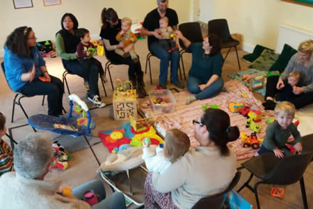 Wilton Baptist Church - Ducklings toddlers group
